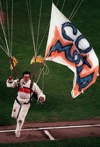 Michael Sergio, after he fell from the upper deck at Shea Stadium during game 6 of the 1986 World Series.